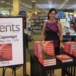 Lisa at Barnes & Noble