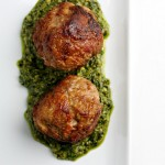 Veal Polpetti with Green Sauce